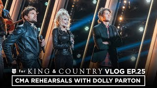 Download CMA Awards Rehearsal with DOLLY PARTON! Mp3 and Videos