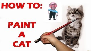 How to Draw / Paint a Cat: Step by Step