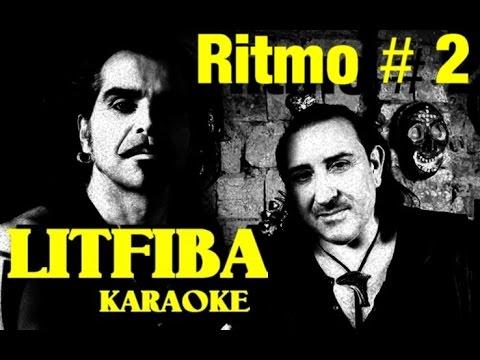 Ritmo # 2 Litfiba karaoke con testo base musicale instrumental