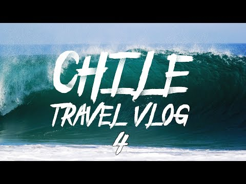TRAVEL VLOG CHILE #4 | Ocean Surfing (AMAZING)