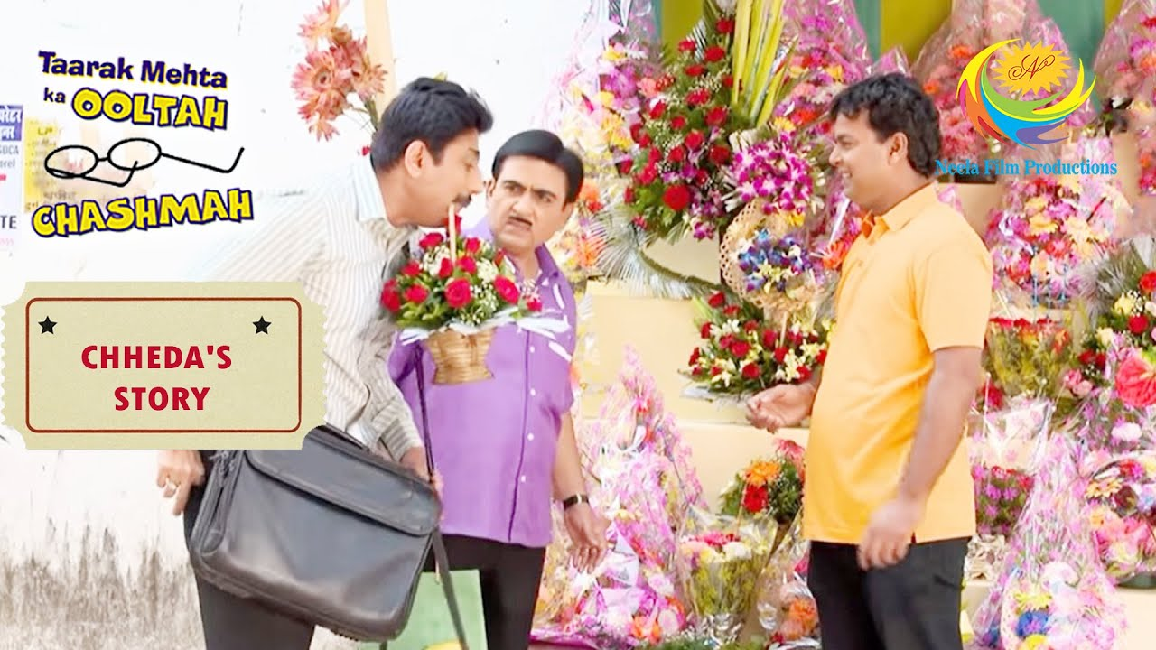 Taarak Helps Jetha In Finding A Bouquet For Chheda |Taarak Mehta Ka Ooltah Chashmah | Chheda's story