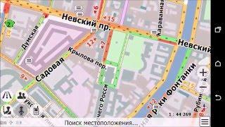 видео Сравнение Navitel,CityGuide и Яндекс навигатора часть 2