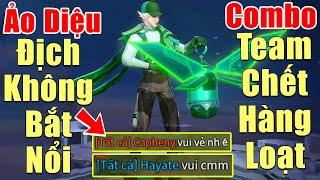 [Gcaothu] Eland'orr trùm xạ thủ ảo diệu địch vất vả không bắt nổi - Combo khiến team chết hàng loạt