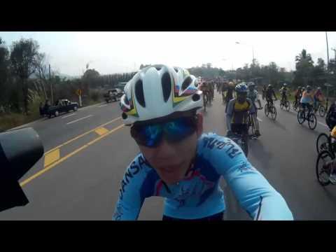 HIGHWAY BIKE ON ROUTE12 ปั่นจักรยานเปิดถนนหมายเลข12