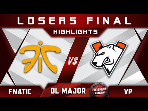 Fnatic vs VP LB Final Stockholm Major DreamLeague Highlights 2019 Dota 2 thumbnail