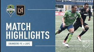 Video Gol Pertandingan Seattle Sounders FC vs Los Angeles FC