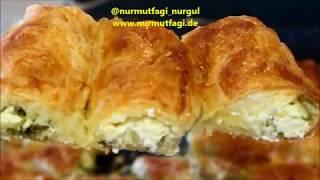 Haftasonu kahvaltısına değişiklik olsun, pratik & lezzetli Baklavalık Yufkadan Çıtır Börek tarifi