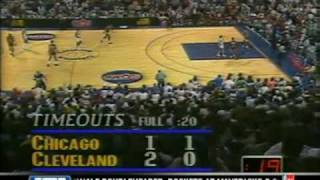 Chicago Bulls vs. Cleveland Cavaliers 1989 Playoffs Game5
