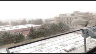 Massafra - nevicata Epifania 2017