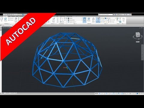 Userwish - Dome - Kuppel - Autocad 2018 Training - Part Design