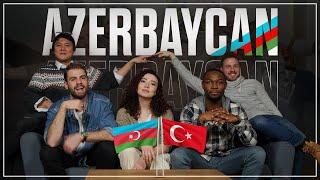 Azerbaycan (KAYBOLMAK = AZMAK MI? / AZERBAYCAN BAKLAVASI, vs.) - 4 Yabancı 1 Azerbaycan Türkü