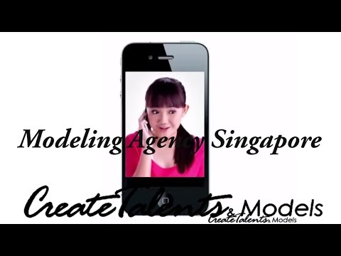 Singtel Connecting Tones  - Create Talents and Models - Modeling Agency Singapore