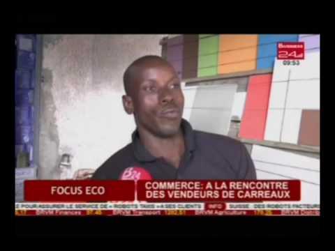 Focus Eco / Commerce : A la rencontre des vendeurs de carreaux