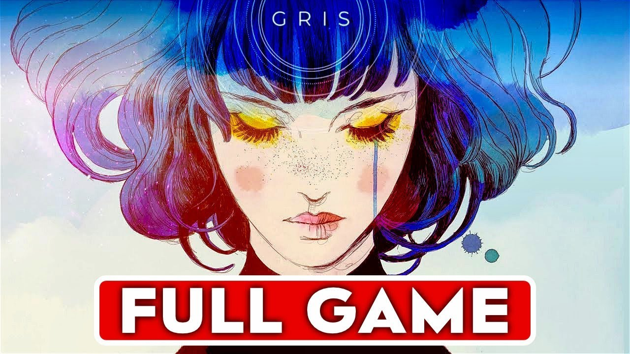 Download GRIS Gameplay Walkthrough Part 1 FULL GAME [1080p HD PC] - No Commentary