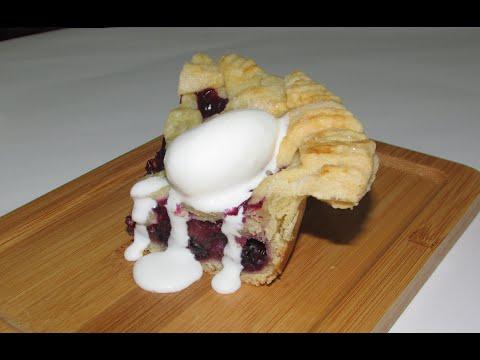 Individual mini Blueberry pies (2 crust design)