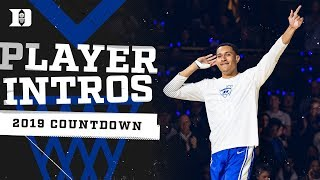 2019 Countdown to Craziness: Player Intros