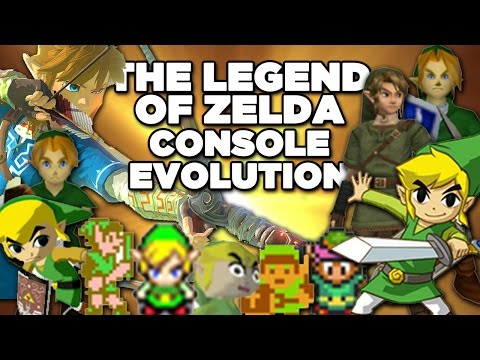 The Legend of Zelda's Console Evolution
