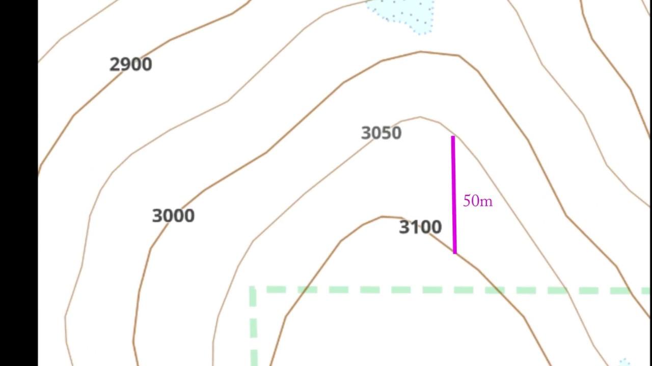 Contour Lines On A Map Contour lines: OsmAnd Maps & Navigation   YouTube