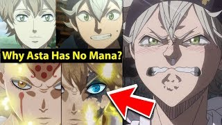 Black Clover Plot Twist Made Everyone Cry Why Asta Has No Mana Who Are His Parents Theory Youtube