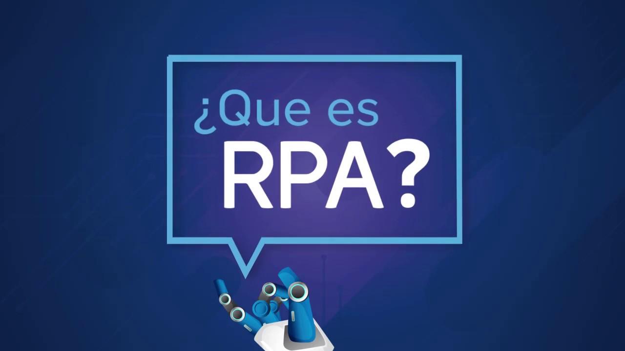 ¿Qué es RPA?