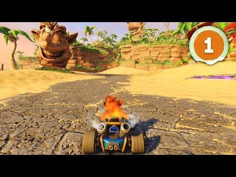 ITS SO GOOD!   Crash Team Racing Nitro Fueled - Part 1