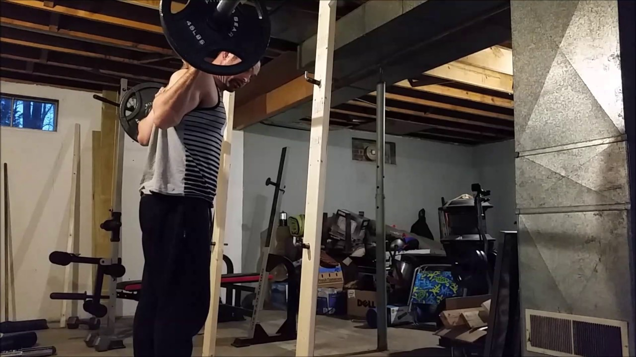 How to build your own $30 dollar squat rack youtube