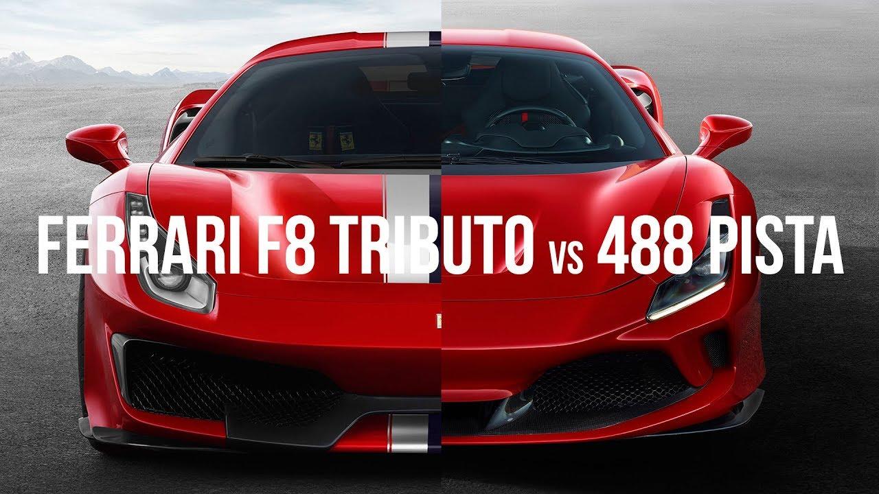 Ferrari F8 Tributo vs Ferrari 488 Pista at Bathurst