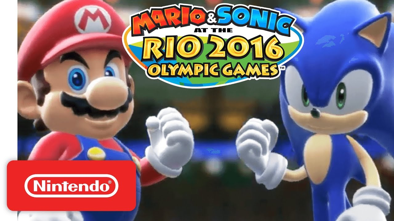 Rio Olympic Mario Sonic At The Rio 2016 Olympic Games Opening Movie