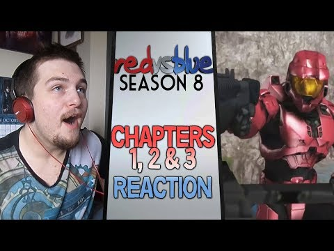 Red vs. Blue Season 8 Chapters 1 - 3...