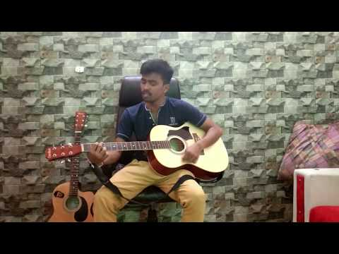 O Mere Dil Ke Chain   Kishore Kumar   Bollywood Song   Acoustic Guitar   Old Is Gold