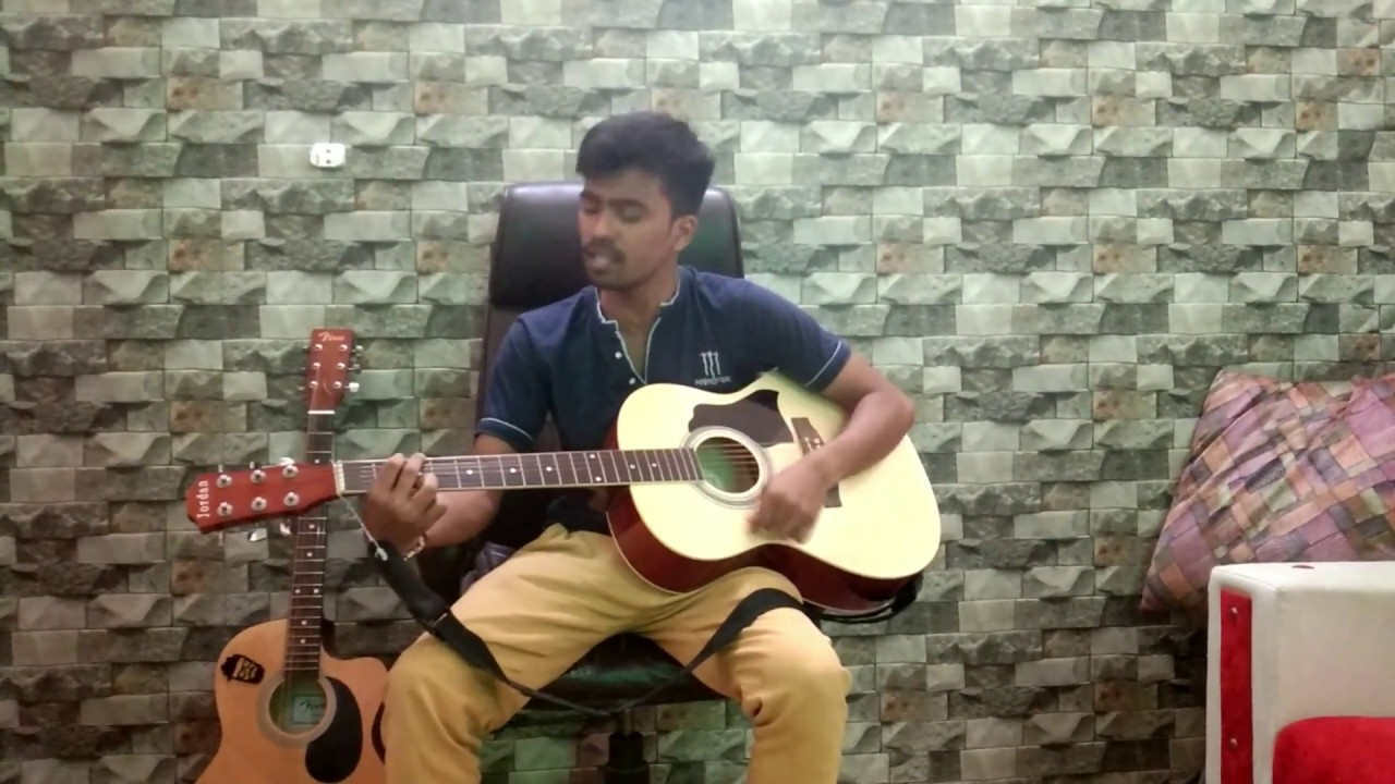 O Mere Dil Ke Chain | Kishore Kumar | Bollywood Song | Acoustic Guitar | Old Is Gold