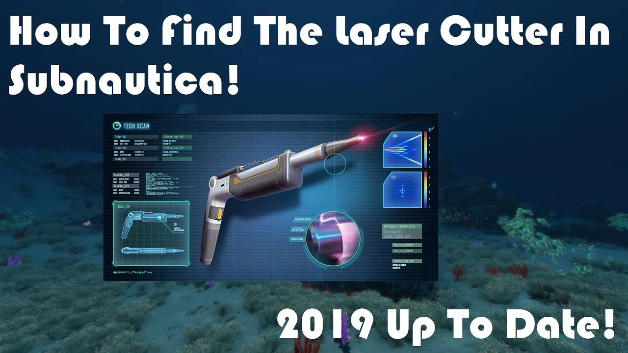 How To Find Laser Cutter Fragments In Subnautica! | 2019 ...