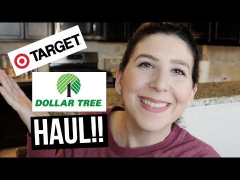 HUGE Target & Dollar Tree HAUL !! | upcoming GIVEAWAY DETAILS !!