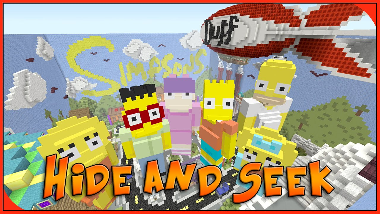 Minecraft Xbox Hide And Seek Simpsons