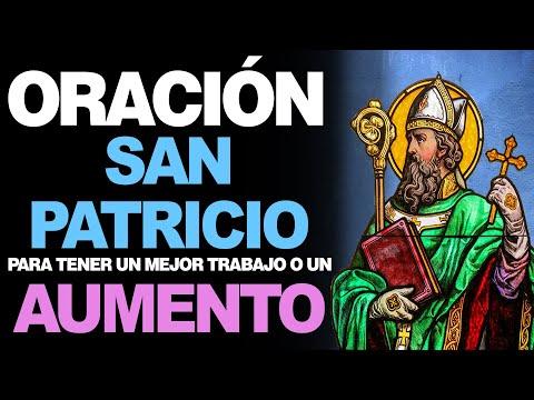🙏 Oración a San Patricio para TENER MEJOR TRABAJO O TENER UN AUMENTO 💵