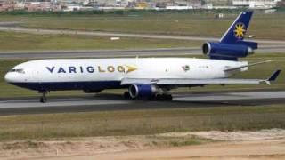 LANDING MD-11 VARIGLOG BRASILIA - SBBR
