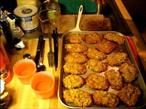 Oatmeal Cookies Fruitcake Style Easy Recipe