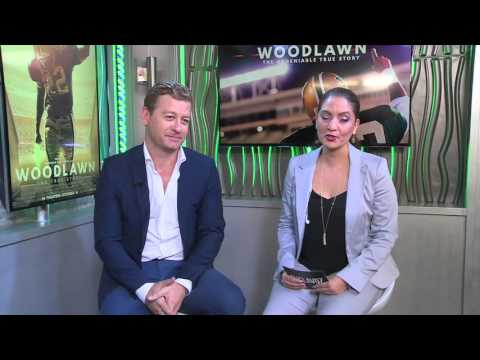 "Entrevista con Nic Bishop de la pelicula ""Woodlawn"""