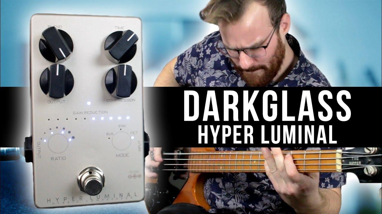 Darkglass Electronics Hyper Luminal Hybrid Compressor Bass Effects Pedal