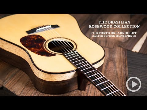 Bedell Guitars Brazilian Rosewood Collection: The Forte Dreadnought