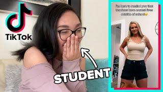 Students React To Teacher TikToks
