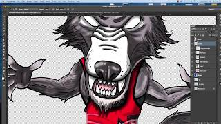 How to Draw NC State Wolf Pack Wrestler