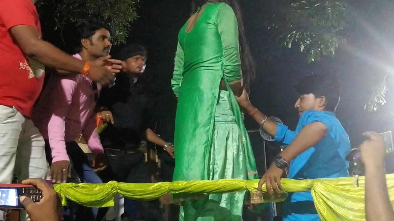 संदीप राज और रसगुल्ला का भुत वाला डांस देख पब्लिक हुई हैरान