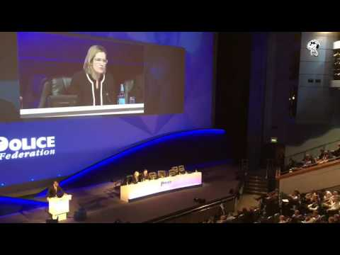 GE2017: Home Sec Amber Rudd MAJOR GAFF at Police Federation Conference over Police pay!