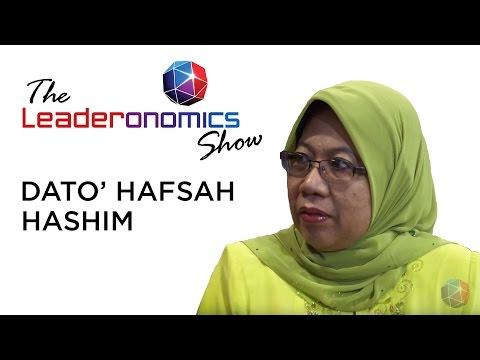 Dato' Hafsah Hashim, CEO of SME Corp. Malaysia on The Leaderonomics Show