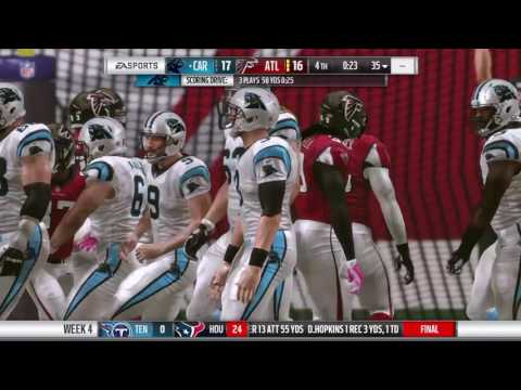 Madden 17 Connected Franchise - Crazy Ending against Cam Newton's Panthers