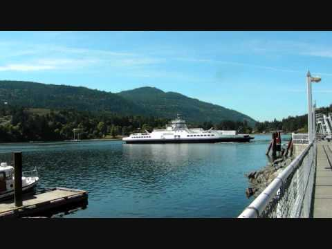 BC Ferries Fulford Harbour Salt Spring Island British Columbia