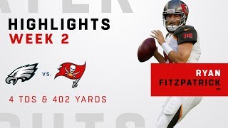 Fitzpatrick Makes MAGIC Again w/ 402 Yards & 4 TDs!