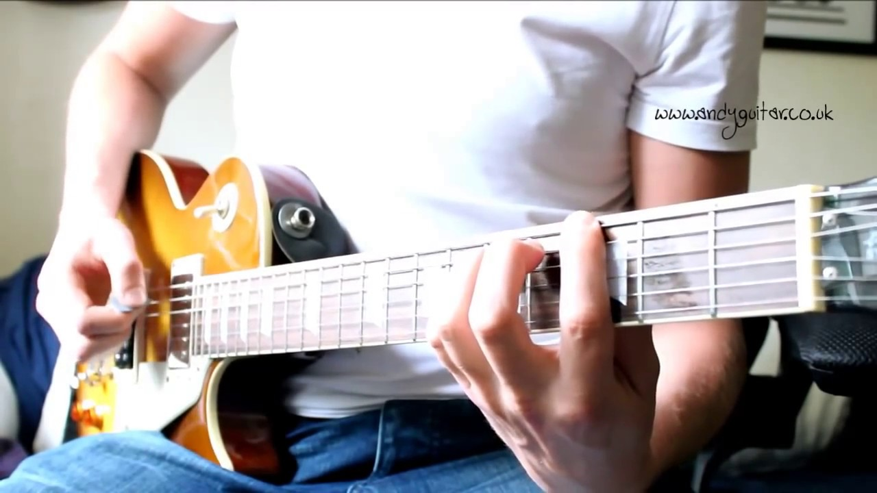 ac dc tnt guitar tutorial minor pentatonic song 5 guitar fan. Black Bedroom Furniture Sets. Home Design Ideas