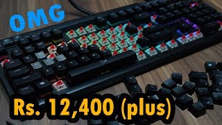 HyperX HX-KB2BR2-US/R1 Alloy Elite RGB LED Cherry Mechanical Gaming Keyboard Rs. 12,400 plus